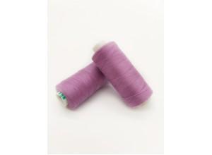 Нитки Dor Tak №155 Лаванда фламэ/Роза (вязаный трикотаж мелкая вязка)