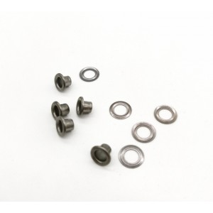 Eyelets 3 mm Black nickel (steel) No. 17