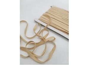 Резинка бельевая ажурная 10 мм Телесный