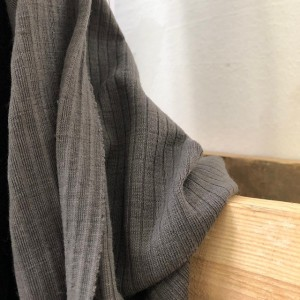Knitwear for dress and blouse Gray