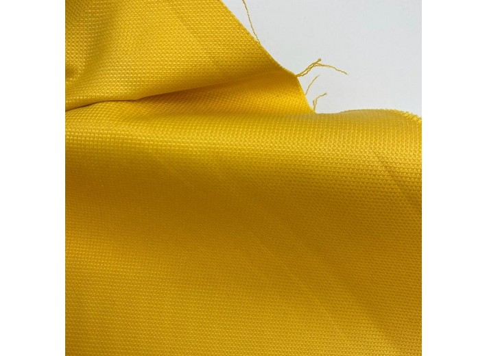 Ткань фактурная с эластаном Желтый