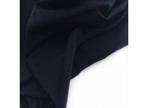 Футер 2х нитка петля Черно-синий
