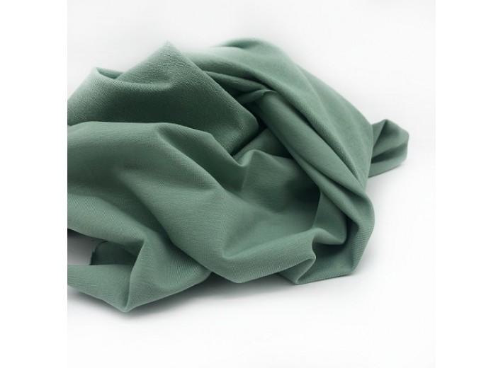 Футер 2х нитка петля Зеленый иней