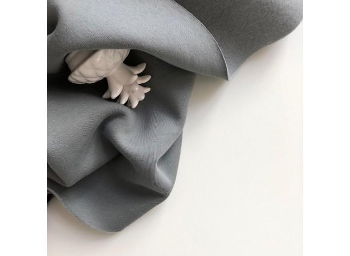 Футер 3х нитка с начесом Светло-серый