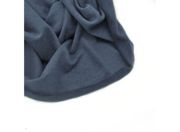 Футер 3х нитка петля Синий меланж
