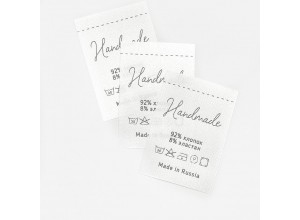 Составник Handmade 92% х/б, 8% эластан сатин (упаковка 10шт)
