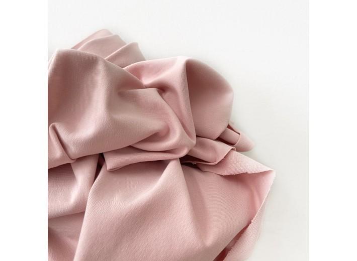 Футер 2х нитка петля Облачно-розовый