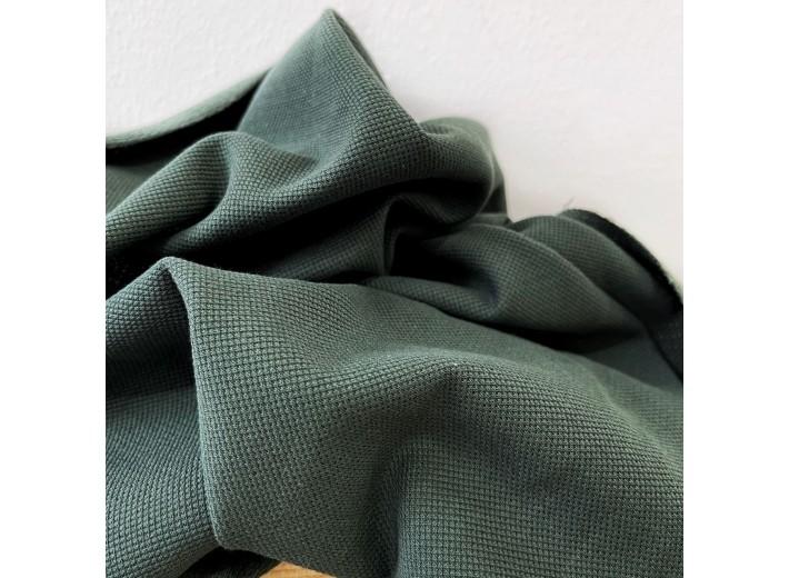 Футер-пике (2х нитка) Темно-зеленый
