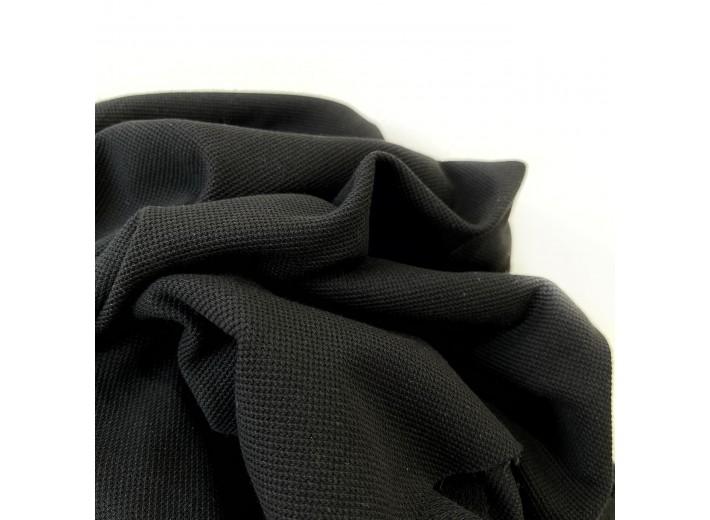Футер-пике (2х нитка) Черный