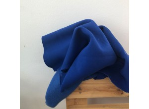 Футер 3х нитка с начесом Ярко-синий