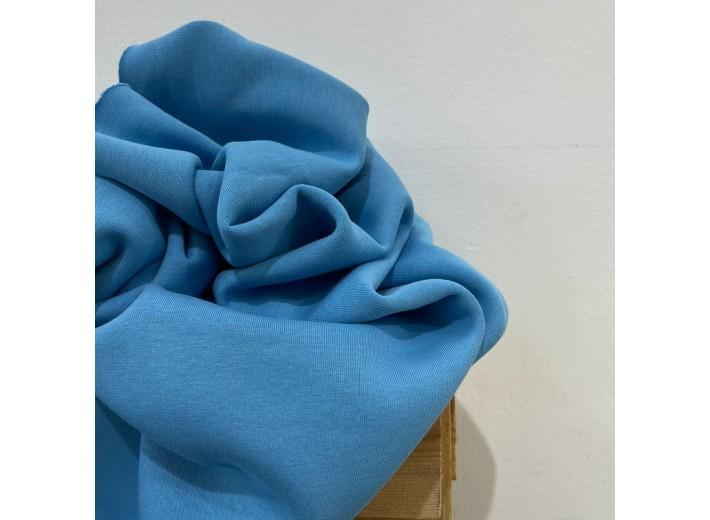 Футер 3х нитка с начесом Голубой