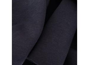 Футер 3х нитка с начесом Черно-синий