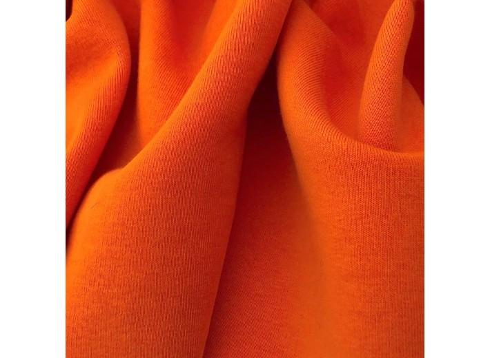 Футер 3х нитка с начесом Апельсин