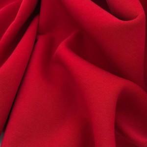 Футер 3х нитка с начесом Красный