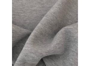 Футер 3х нитка с начесом Серый меланж