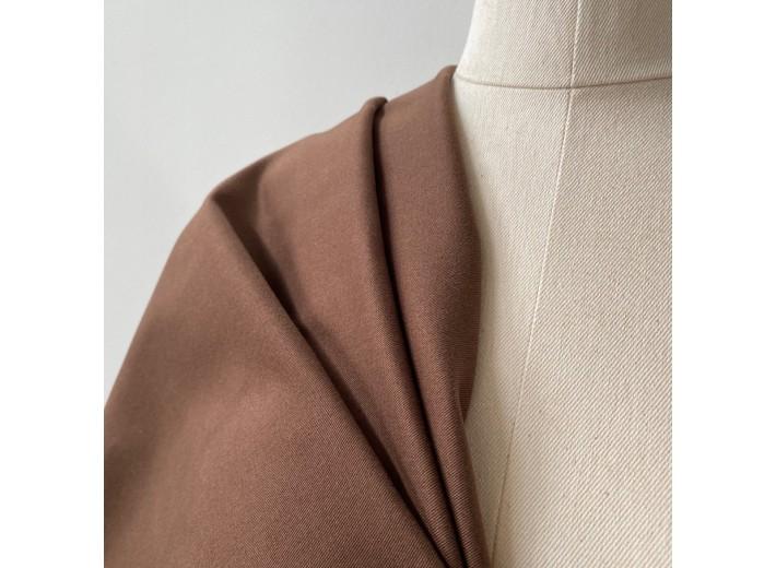 Хлопок костюмно-плательный Коричневый (290 г/м2)