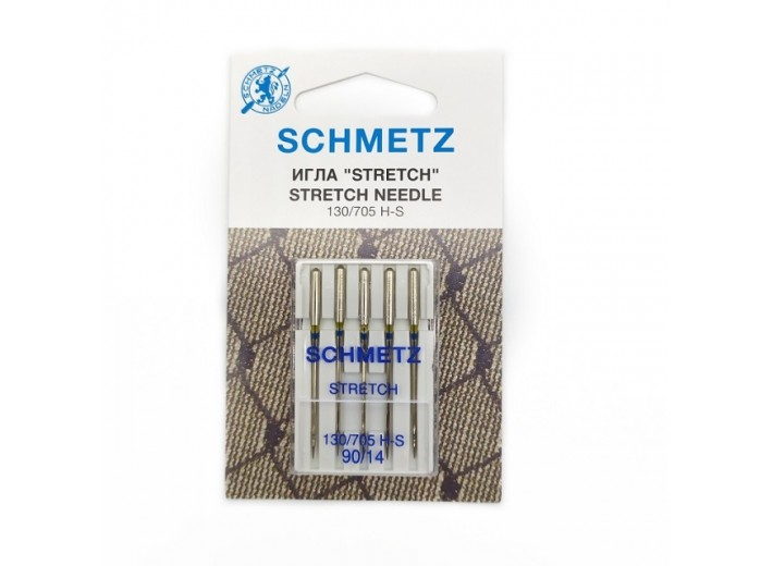 Иглы машинные SCHMETZ STRETCH (№90)
