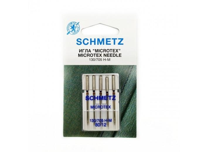 Иглы машинные SCHMETZ MICROTEX (№ 80)