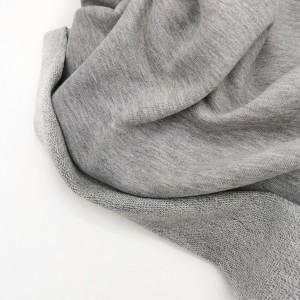 Футер 3х нитка петля Серый меланж