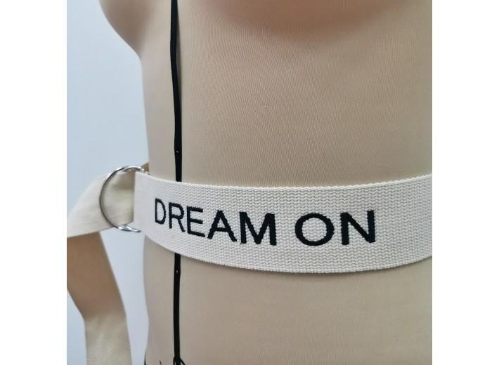 Ремень Молочный Dream on