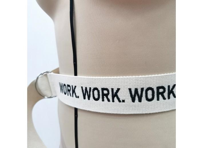 Ремень Молочный Work. Work. Work