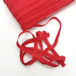 Резинка бельевая ажурная 10 мм Красный