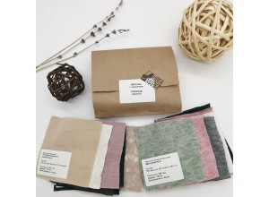 Образцы вязаного трикотажа 10х10 см