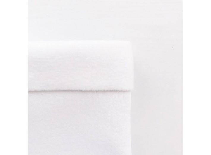 Футер 3х нитка с начесом Белый