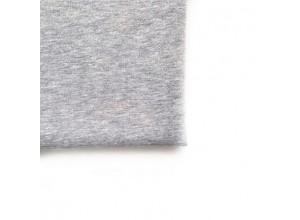 Футер 3х нитка петля Серый меланж 100% х/б (диагональ 470 г/м2)