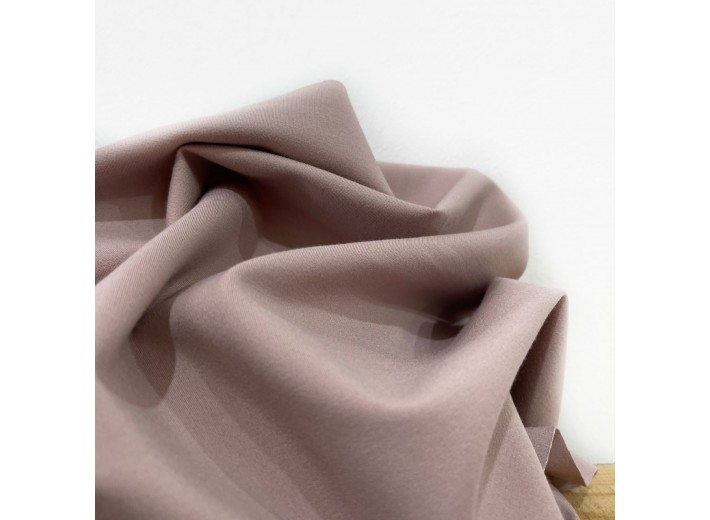 Джерси костюмный Облачно-розовый