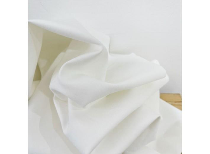 Джерси костюмный Молочный