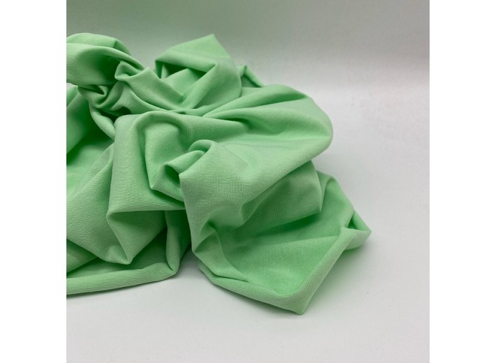 Кулирная гладь Светло-зеленый (165 г/м2)