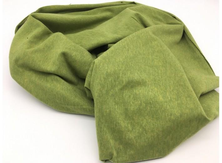 Кулирная гладь Желто-зеленый меланж (170 г/м2)