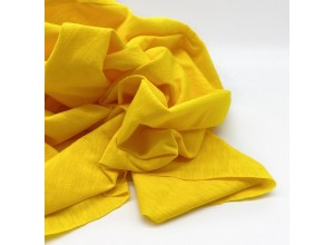 Кулирная гладь Желтый одуванчик фламэ 100% х/б (130 г/м2)