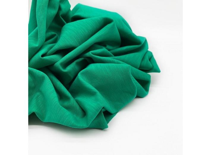 Кулирная гладь Ирландский зелёный фламэ (180 г/м2)