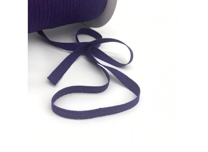 Киперная лента Темно-фиолетовый 10 мм