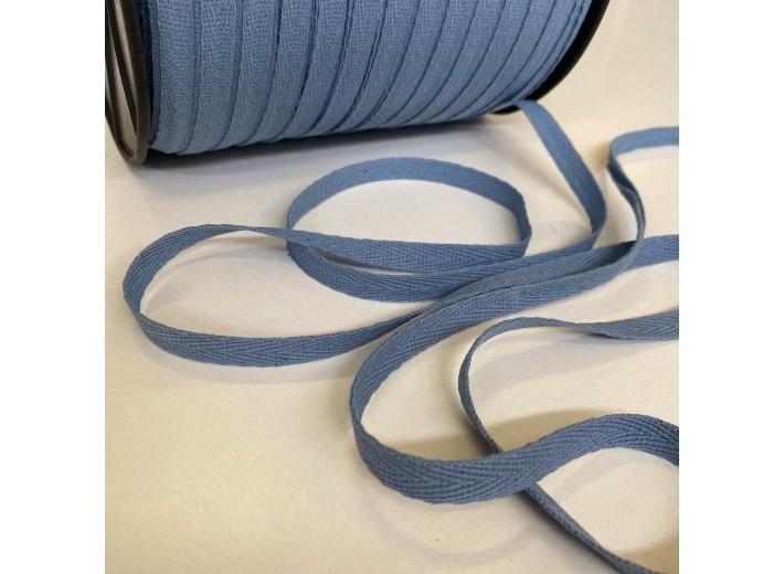 Киперная лента Пыльно-синий 10 мм