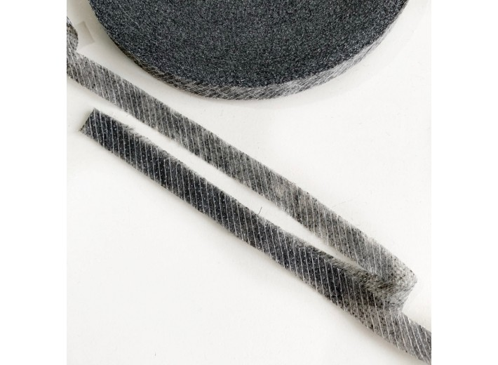 Клеевая кромка по косой 10 мм Графит