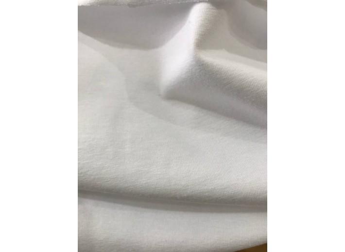 Кулирная гладь Белый (220 г/м2)