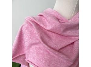 Кулирная гладь Розовый меланж (180 г/м2)
