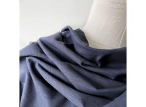 Кулирная гладь Чернильно-серый фламэ (180 г/м2)