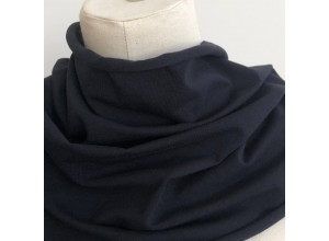 Кулирная гладь Черно-синий  (170 г/м2)