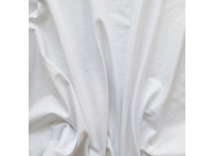 Кулирная гладь Белый (240 г/м2)