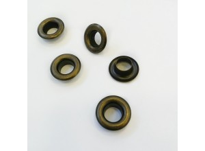 Люверсы 8 мм Антик (сталь)