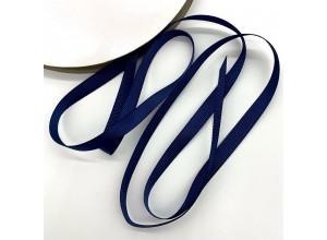 Репсовая лента Темно-синий 10 мм