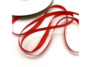 Репсовая лента Красный 10 мм