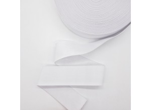 Резинка тканая 40 мм Белый