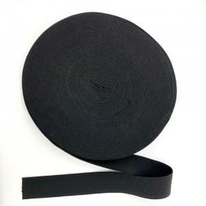 Резинка вязаная 30 мм Черный