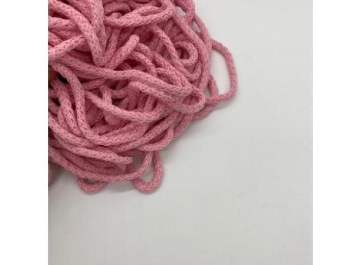 Шнур круглый Розовый 5 мм