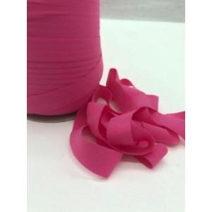 Резинка окантовочная матовая  20 мм Фуксия